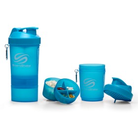 S Shaker Lite 1000ml - neon blue
