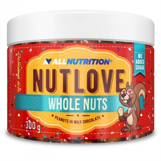 Whole Nuts - peanuts in milk chocolate